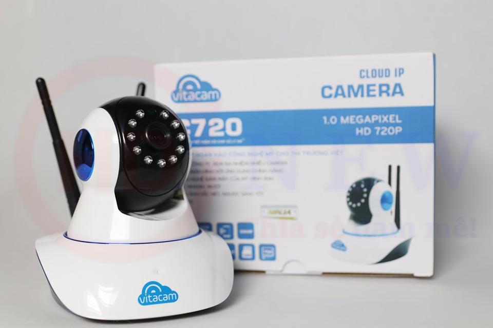 Vitacam C720 - Camera Wi-Fi HD 720p đa chức năng | HDnew Camera