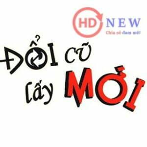 Đổi cũ lấy mới - Icon - HDnew Hà Nội