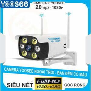 Camera IP YooSee ngoài trời 2MP | HDnew CCTV