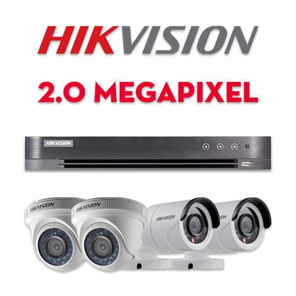 Bộ camera quan sát Hikvision HD-TVI 2MP   HDnew CCTV