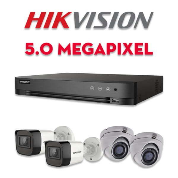 Bộ camera quan sát Hikvision HD-TVI 5MP | HDnew CCTV