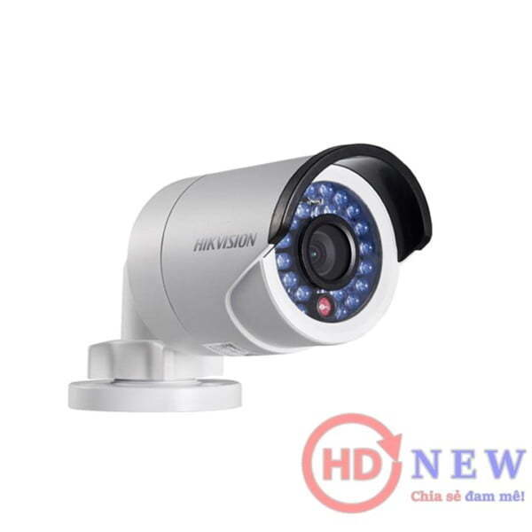 Hikvision DS-2CE16D0T-IR - camera thân trụ 2MP, hồng ngoại 20m | HDnew Camera