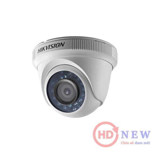 Hikvision DS-2CE56D0T-IR - camera bán cầu 2MP, hồng ngoại 20m | HDnew Camera
