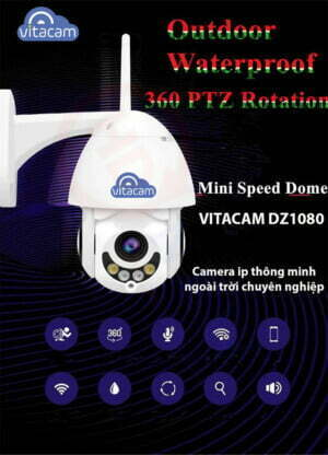 Vitacam DZ1080 | Camera IP quay quét 2.MP (Full HD 1080p) | HDnew Camera