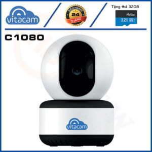 Vitacam C1080 - Full HD 1080p, H.265X, quay quét theo chuyển động | HDnew CCTV