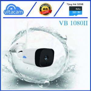Vitacam VB1080 II - Camera IP Wi-Fi 2MP góc siêu rộng (chuyên lắp ngoài trời) | HDnew CCTV
