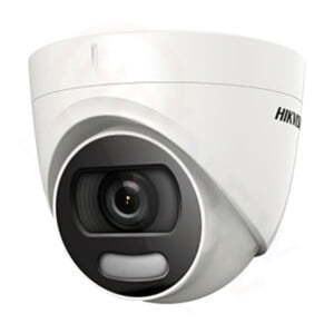 Hikvision DS-2CD1327G0-L | 2MP IP PoE Turret Camera (ColorVu Series) | HDnew CCTV
