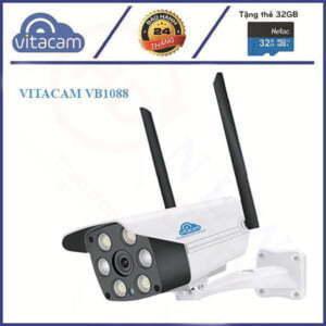 Vitacam VB1088 - Camera IP ngoài trời 2MP Starlight (quan sát màu ngày đêm) | HDnew CCTV