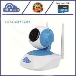 Vitacam VT2000 - Camera IP Wi-Fi trong nhà 3MP | HDnew CCTV