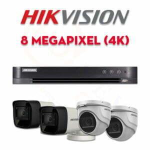 Bộ camera quan sát Hikvision HD-TVI 8MP (4K) | HDnew CCTV
